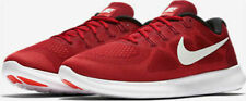 Mens Nike Free RN 2017 880839-601 Game Red/Off White NEW Size 11