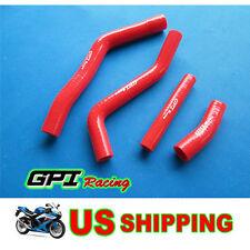 YAMAHA YZ450F YZF450 YZ 450F 2010-2013 12 11 10 Silicone Radiator Hoses Kit RED