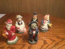5 Animal / People Christmas Ornaments