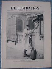 L'ILLUSTRATION 3085  12/4/1902 CATASTROPHE DE GLASGOW GAZ D'ECLAIRAGE LA VOULTTE