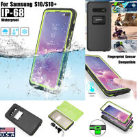 For Samsung Galaxy S10+ Plus Waterproof Case Shockproof Dirt Proof Full Cover