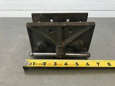 """Vintage Small  Wood Workers Vise 6-1/2"""" Wide Jaws  Weight 5.5 lb. Made in U.S.A."""