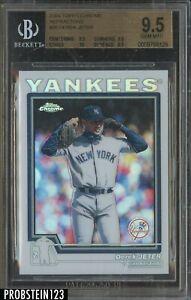 2004 Topps Chrome Refractor Derek Jeter New York Yankees HOF BGS 9.5 w/ 10 POP 1