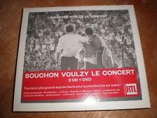 souchon voulzy le concert 2 cd + dvd neuf sous blister