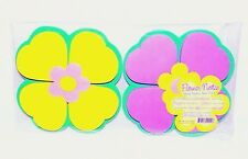 Magnetic Flower Sticky Notes Twin Pack