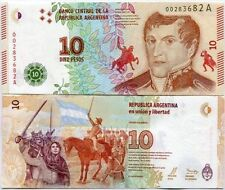 Argentina - 10 pesos - UNC currency note - New 2015 issue