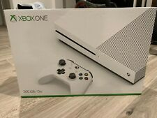 Xbox One S 500GB White NEVER PLAYED ADULT OWNED ORIGINAL PACKAGING