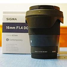 Sigma 16mm F1.4 DC DN Contemporary Lens Sony E