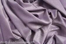 Dance Costume Fabric Stretch Velvet Purple 50cm X 150cm