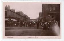 PORTLAND STREET, TROON: Ayrshire postcard (C17173)