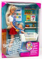Shoppin' Fun Barbie & Kelly Dolls 1995 #15756 Collectible Toy