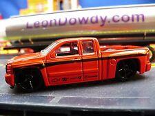 Chevy Silverado pick up truck, Red & Black on TLC Rimz; Brembo K&N sponsors