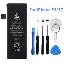 1560mAh Li-ion Replacement Internal Battery for iPhone 5s 5c + Free Tool Kits