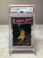 2016 Panini Donruss Optic Lebron James PSA 9 Mint NBA Cleveland Cavaliers Kobe