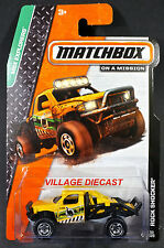 2014 Matchbox #53 Rock Shocker® YELLOW/LIL' DINO/MOC