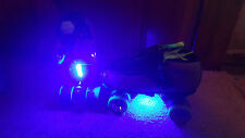 LED Strip Blue Bright Roller Jam Skate Lights Longboards, Inline, Scooter Bike