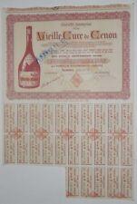 Action - Société Anonyme de la Vieille Cure de Cenon action de 2500 Fr N°019658