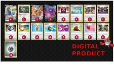 Zacian / Zamazenta DECK Pokemon TCG Online DIGITAL cards PTCGO