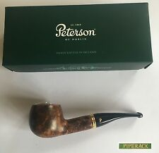 NEW Peterson Liscannor 408 Fishtail Pipe Smooth Finish BRAND NEW