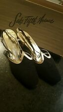 Saks Fifth Avenue Women's Vintage Shoes Black Velvet Size 4.5B