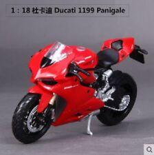 Véhicules miniatures rouge pour Ducati 1:18