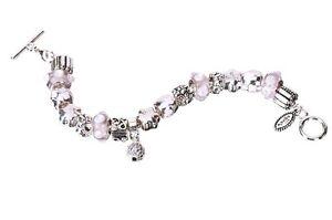 Golf Bead Bracelet Pink Divot Diva Mantra, Navika, golf accessories