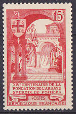 TIMBRE FRANCE NEUF N° 926 ** ABBAYE STE. CROIX POITIERS
