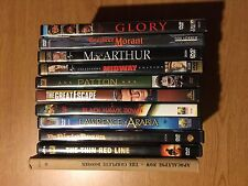 War Movie DVD Collection (Midway, Patton, Great Escape, Glory, and More)
