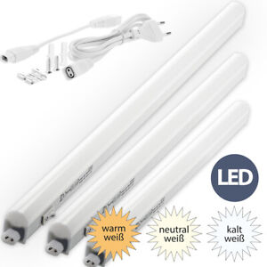 LED Unterbauleuchte Lichtleiste Schrank Küchen Leuchte wam- neutral- kaltweiß