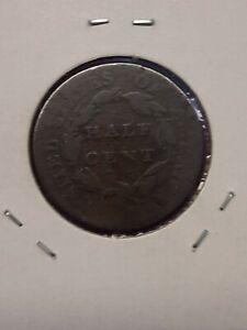 1810 1/2c Classic Head Half Cent