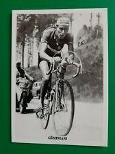 CYCLISME carte cycliste RAPHAEL GEMINIANI