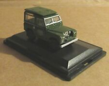 OXFORD DIECAST LAND ROVER SERIES II SWB HARD TOP POST OFFICE 1:76 SCALE TELEPHON