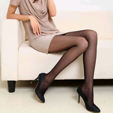 Women Super Elastic Stockings Nylon Magical Tights Shaping Pantyhose Sexy Black