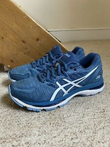 Women's ASICS Gel Nimbus 20 Trainers/Shoes Azure/White UK Sz. 7
