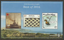 NEW ZEALAND BEST of 2016 Warship Matariki Water Skiing Souvenir Sheet MNH