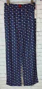 NWT VINEYARD VINES Unisex' Kids Elf Whale Pajama Pants Size L/14 $39.50