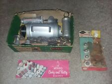 Vintage Mirro Cooky And Pastry Press w 12 Discs and 3 Tips & Recipe Book