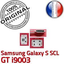 ORIGINAL Samsung Galaxy S SCL GT i9003 Connecteur de charge MicroUSB Chargeur