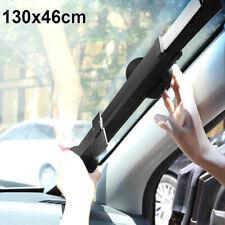 Car Windshield Block Retractable UV Visor Sun Shade Blinds Universal 130 X 46cm