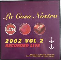RARE La Cosa Nostra Vol. II 2002 Tape Pack Garage House Grime Rave Sun Stush