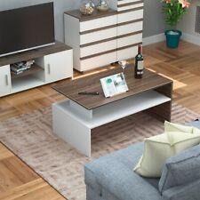 Modern Wooden Coffee Table Cabinet Shelf Storage Living Room Furniture