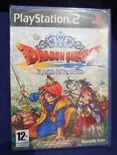 Dragon Quest El Periplo del Rey Maldito videojuego play 2 pal nuevo y precintado