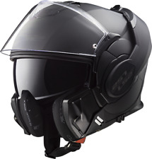 LS2 Helmet Bike Flip-up Ff399 Valiant Noir Matt Black XS