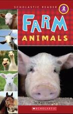 Scholastic Reader Level 2: Farm Animals-ExLibrary
