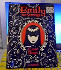 EMILY THE STRANGE : THE LOST DAYS - R REGER & J. GRUNER  ARC 06/2009  YA  RARE