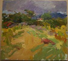 Russian Ukrainian Oil Painting Impressionism Landscape cloud wind Crimea