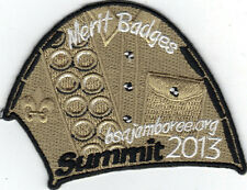 2013 National Jamboree Promo Tent Patch Series, Merit Badges, Mint!