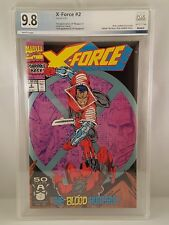 X-Force #2 PGX 9.8, 1st appearance of weapon X, 2nd Deadpool Like CGC