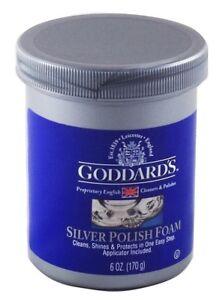 Silver Polish Goddards Silver Polish Foam 170g + applicator (sponge)