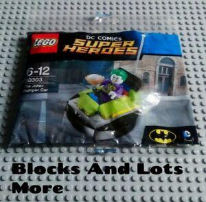 NEW LEGO DC Comics Batman Villans - 30303 The Joker Bumper Car Polybag Set
